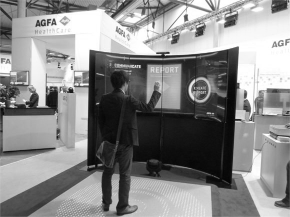 AGFA Healthcare | sounddesign for interactive stand